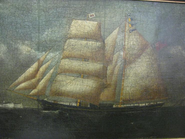 Lizzie Lee, 1856