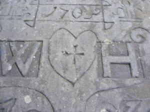 Heptonstall gravestone