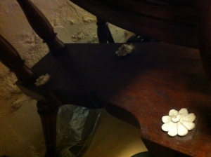 Ivory inlaid detail, Bankfield, Halifax, Credit: Caro Heyworth