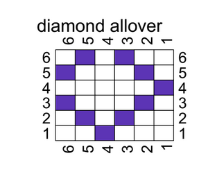 allover diamond
