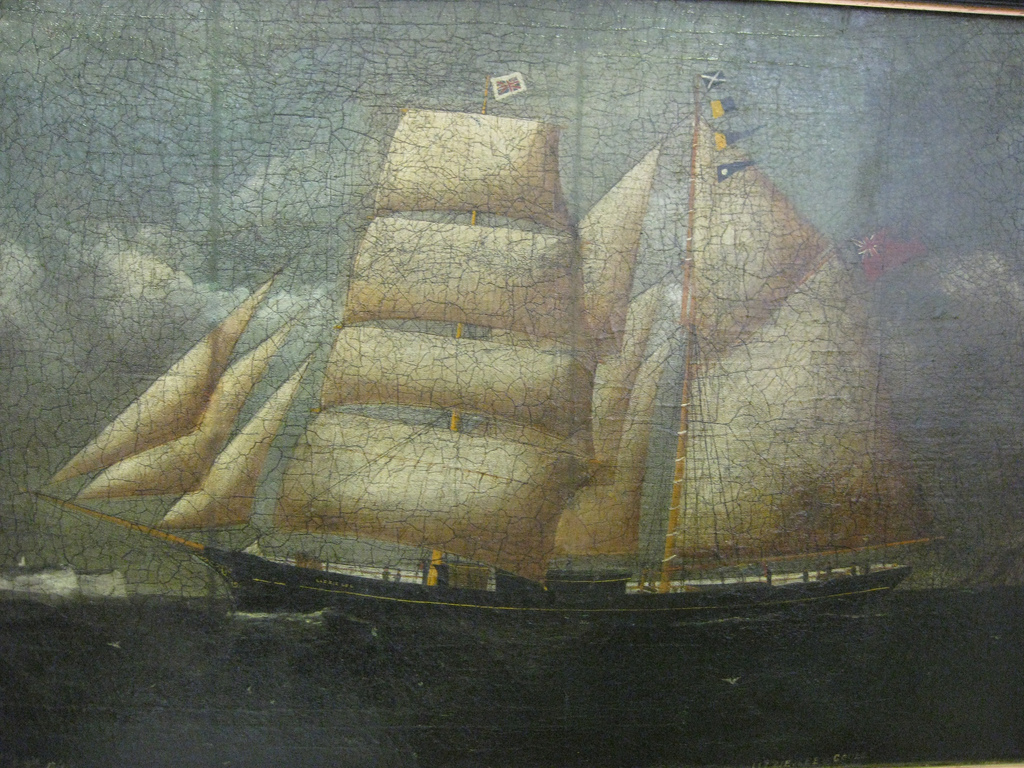 Lizzie Lee, 1856, Reuben Chappel. A Humber vessel.