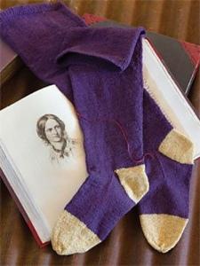 © Interweave Press: Elizabeth Jackson's 1846 stocking pattern