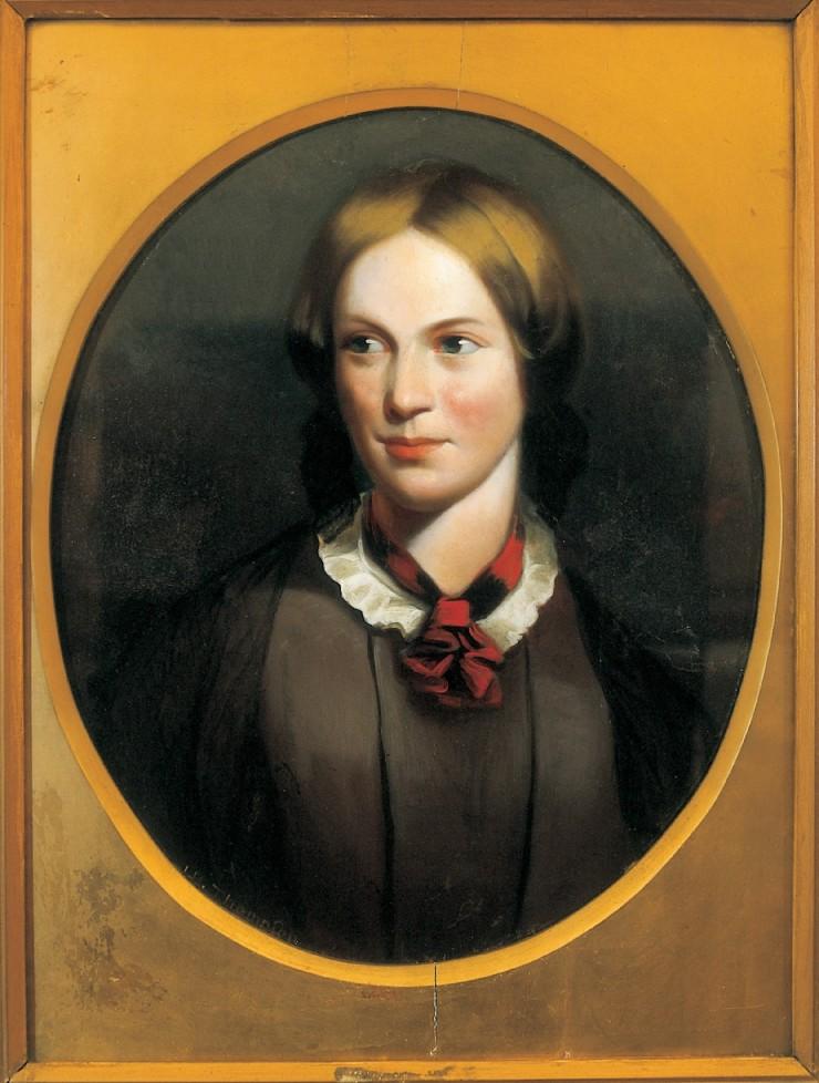 Charlotte Bronte - JH Thompson 1850's(1)