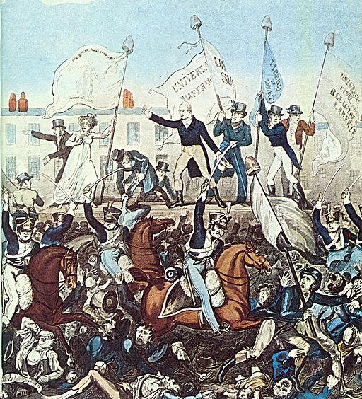 Peterloo-1819-R-Carlile_(partial)