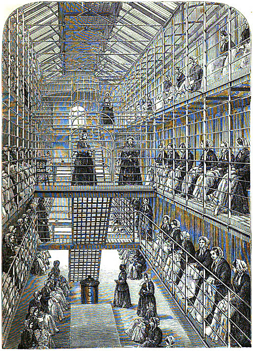 Female_convicts_at_work_in_Brixton_Women's_Prison_(after_Mayhew_&_Binny_1862)