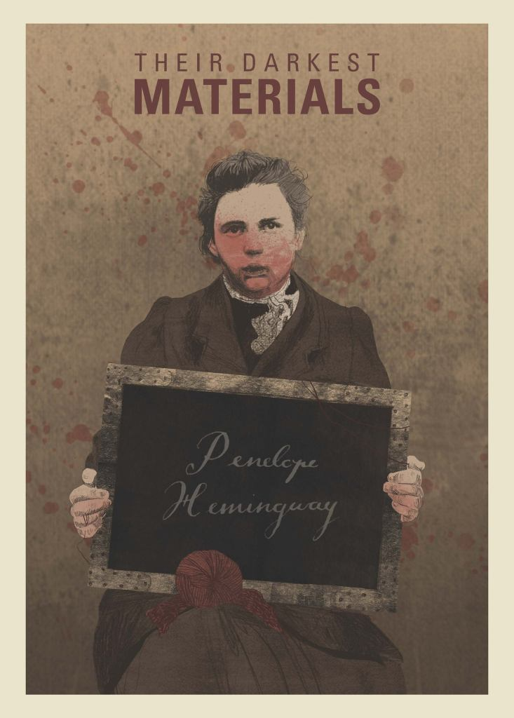 Image of book cover 'Their Darkest Materials'.
